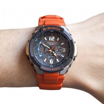 montre casio homme g shock aer