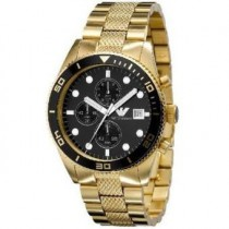 montre armani homme or