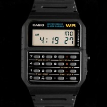 montre casio calculatrice vintage