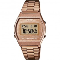 montre collection casio femme or