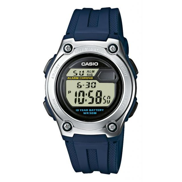 CASIO W-211-2AVES - Montre quartz enfant