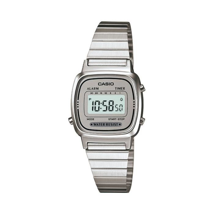 MONTRE OUTDOOR - MONTRE MARINE CASIO Montre Quartz LA670WEA-7EF Femme