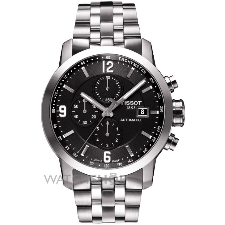 Mens Tissot PRC200 Automatic Chronograph Watch T0554271105700